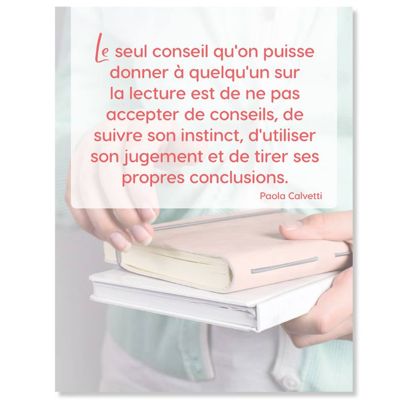 Une citation du Journal de lecture